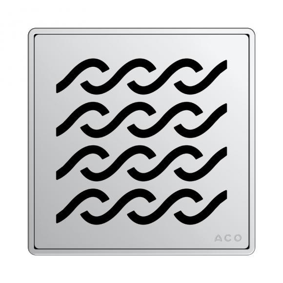 ACO Haustechnik ACO Hawaii Designrost eckig L: 14 B: 14 cm 5141.20.29