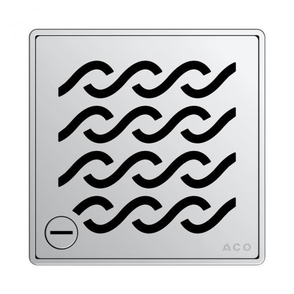 ACO Haustechnik ACO Hawaii Designrost eckig verriegelbar L: 14 B: 14 cm 5141.21.29
