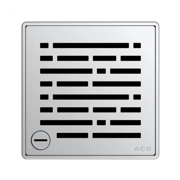 ACO Haustechnik ACO Mix Designrost eckig verriegelbar L: 14 B: 14 cm 5141.21.30
