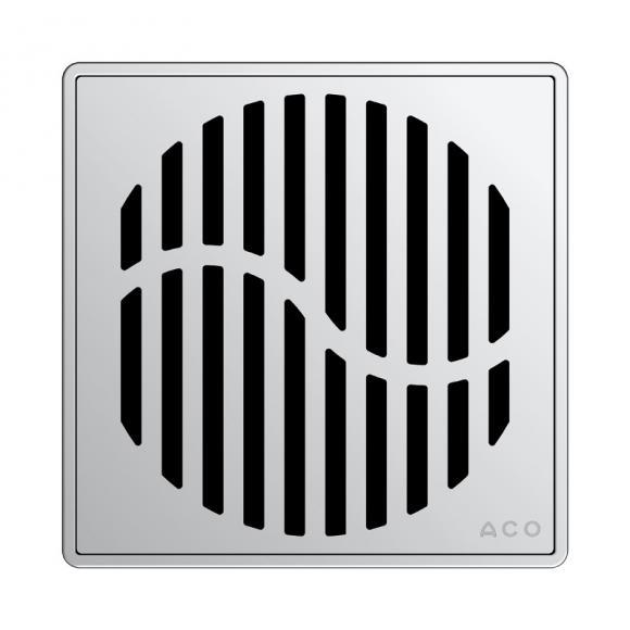 ACO Haustechnik ACO Wave Designrost eckig L: 14 B: 14 cm 5141.08.28