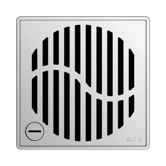 ACO Haustechnik ACO Wave Designrost eckig verriegelbar L: 14 B: 14 cm 5141.21.28