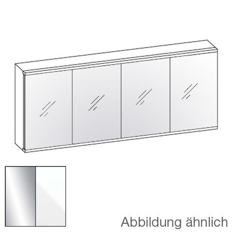 Artiqua 112 LED-Spiegelschrank B: 170,5 H: 73 T: 16 cm Front verspiegelt / Korpus weiß glanz 072-SDT-1-17-68, EEK: A+