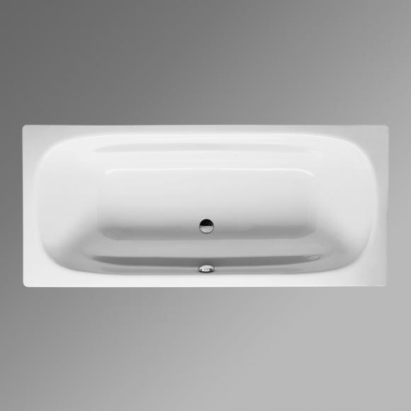 Bette Duo Rechteck-Badewanne L: 180 B: 80 H: 42 cm weiß, für Griffmontage 3820-0001GR