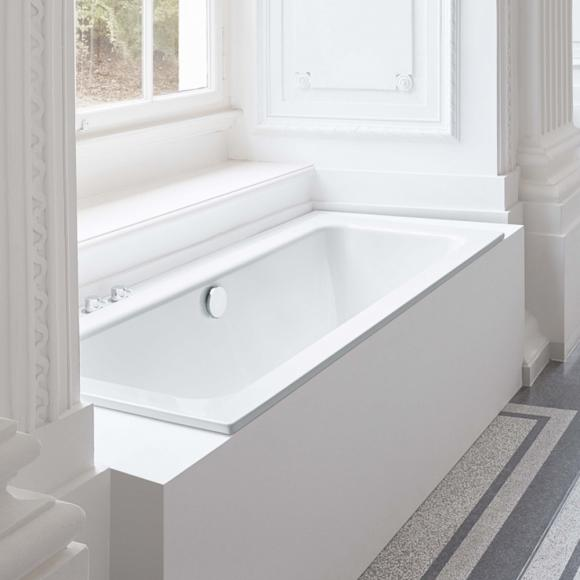 Bette One Rechteck-Badewanne L: 180 B: 80 H: 42 cm weiß, für Griffmontage 3313-0001GR