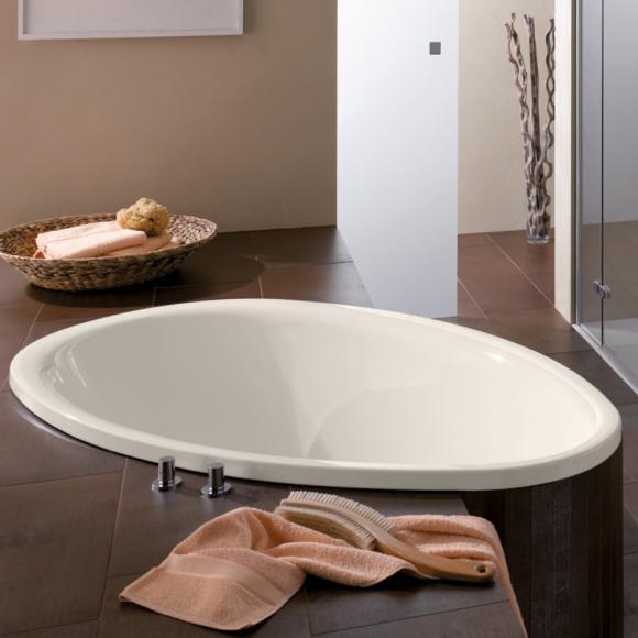 Bette Pool Oval-Badewanne L: 164,1 B: 96 H: 45 cm pergamon 6050-001