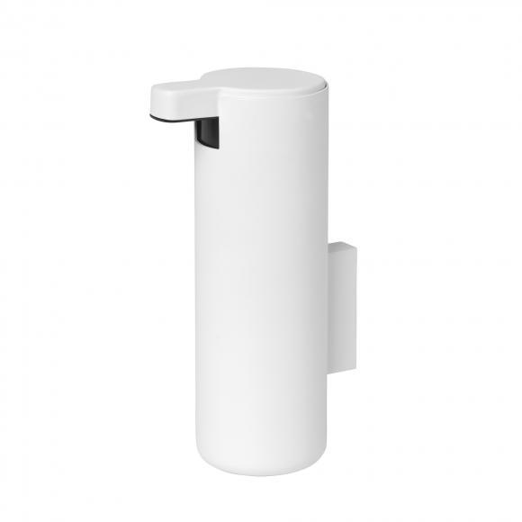 Blomus MODO Seifenspender mit Wandhalterung Ø 55 H: 160 T: 90 mm, 165 ml weiß matt 66269