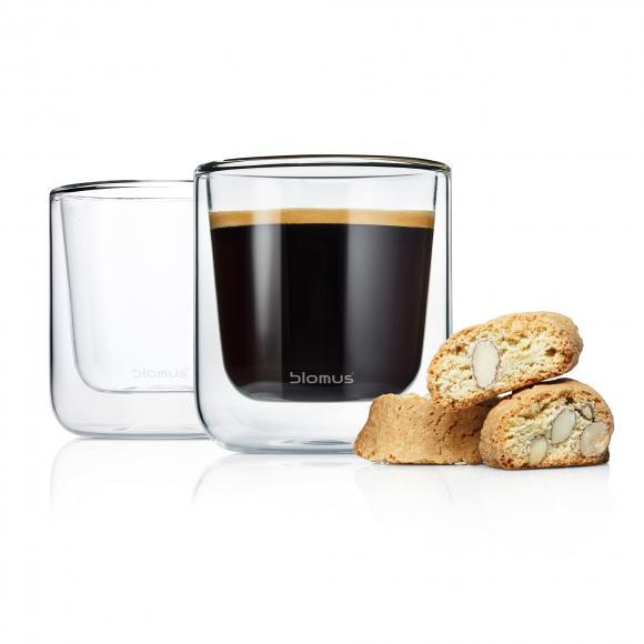 Blomus NERO Thermo-Kaffeegläser, 2er Set 63653