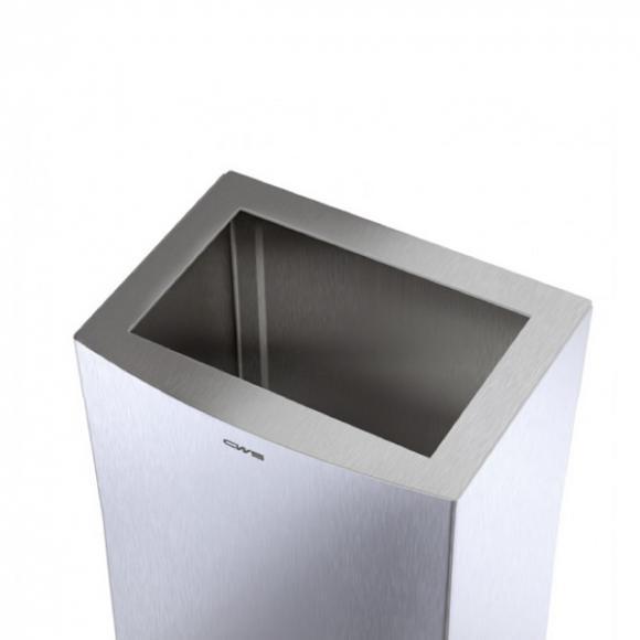 CWS ParadiseLine StainlessSteel Einwurf-Rahmen zu Papierkorb 25 l 307752100