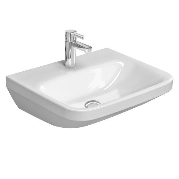 Duravit DuraStyle Waschtisch Med B: 55 T: 44 cm weiß 2324550000