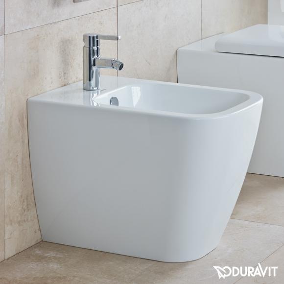 Duravit Happy D.2 Stand-Bidet B: 36,5 L: 57 H: 40 cm weiß mit WonderGliss 22671000001