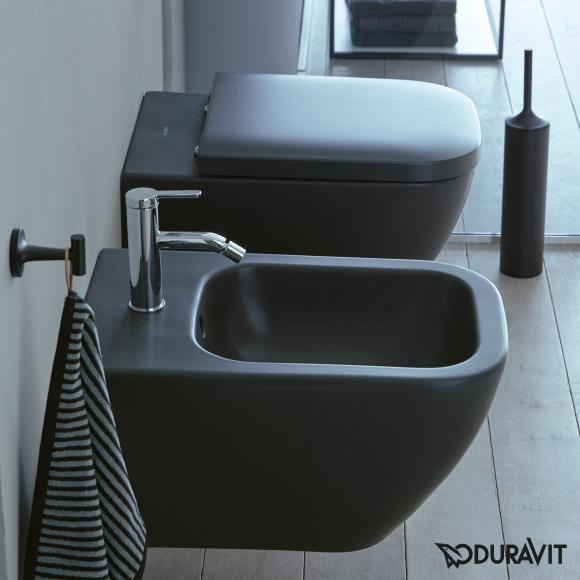 Duravit Happy D.2 Wand-Bidet L: 54 B: 35,5 cm anthrazit matt 2258151300
