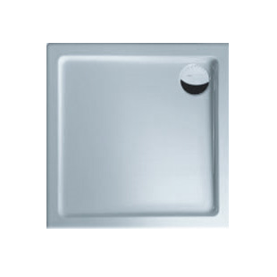 Duscholux Ancona Rechteck Duschwanne Trend 640 L: 80 B: 80 H: 5 cm weiß 663640003001