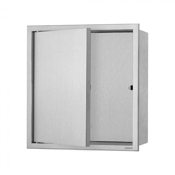 ESS Container BOX Wandnische mit 1 Tür B: 300 H: 300 T: 100 mm BOX-30x30x10-D