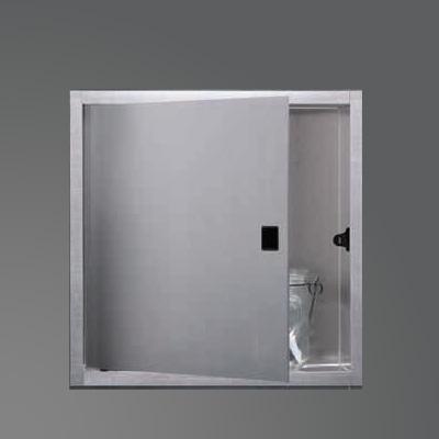 ESS Container BOX Wandnische mit 1 Tür, für Nassbau B: 300 H: 300 T: 70 mm BOX-30x30-D