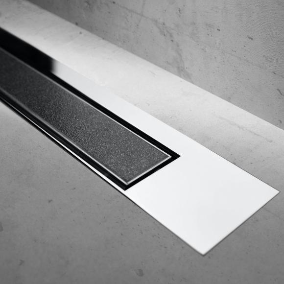 ESS Modulo Design Z-3 befliesbar für Duschrinne: 120 cm, chrom/befliesbar MTAFDZ3PT 1200