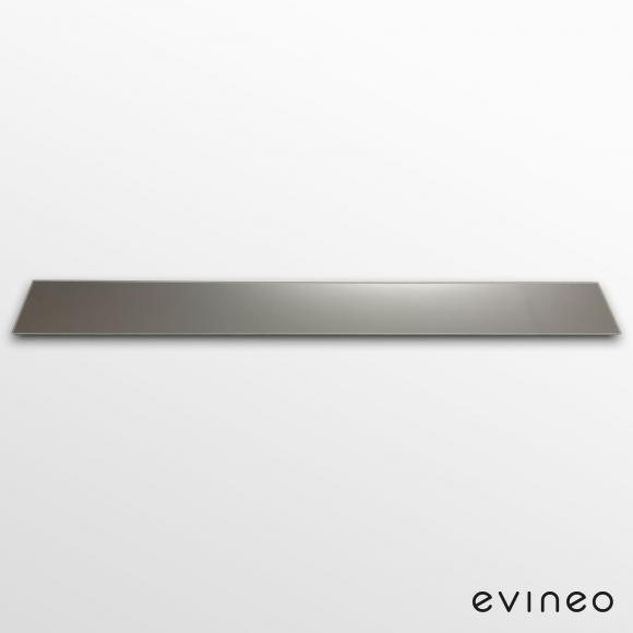Evineo ineo Spiegelabdeckung für Befestigung, für Spiegelschrank B: 80 cm BL000065