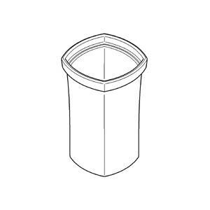 Grohe Grandera Ersatzglas für Toilettenbürstengarnitur 40671000