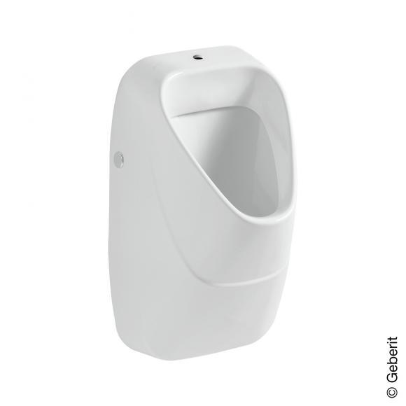 Geberit Alivio Urinal B: 34 H: 57 T: 34 cm weiß mit KeraTect, Zulauf oben, mit Ablaufsieb 238050600