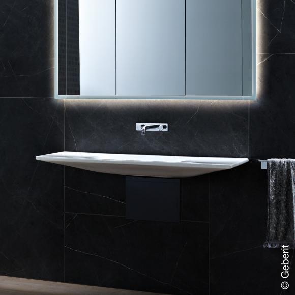 Geberit ONE Waschtisch, schwebendes Design, B: 120 T: 40 cm 500392013