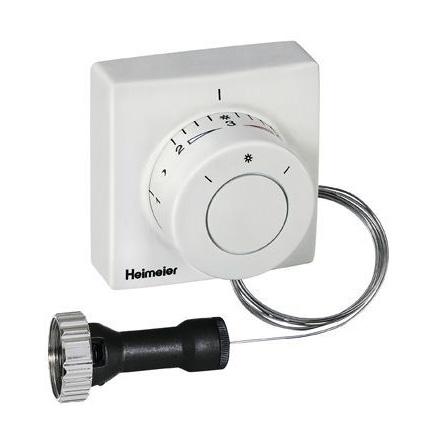 HEIMEIER Thermostat-Kopf F mit Ferneinsteller, Sollwertbereich 0°C - 27°C Kapillarrohrlänge 2 m 2802-00.500