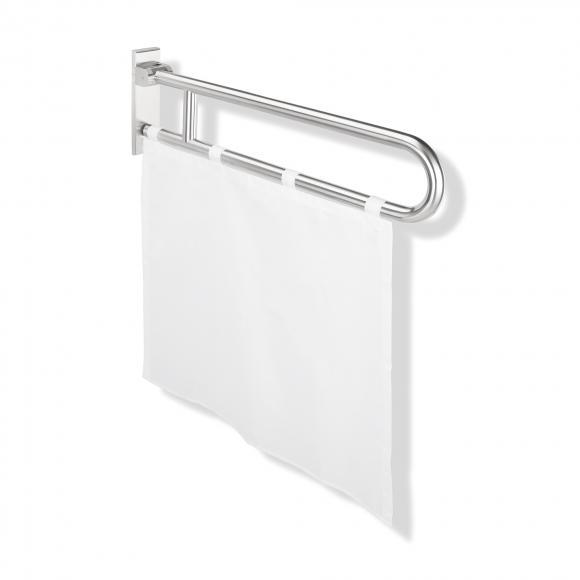 Hewi Serie 801 Duschspritzschutzvorhang, schwer entflammbar weiß B: 730 H: 670 mm 801.52.02030