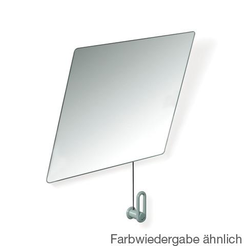 Hewi Serie 801 Kippspiegel B: 600 H: 540 mm felsgrau 801.01.100 95