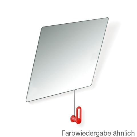 Hewi Serie 801 Kippspiegel B: 600 H: 540 mm rubinrot 801.01.100 33