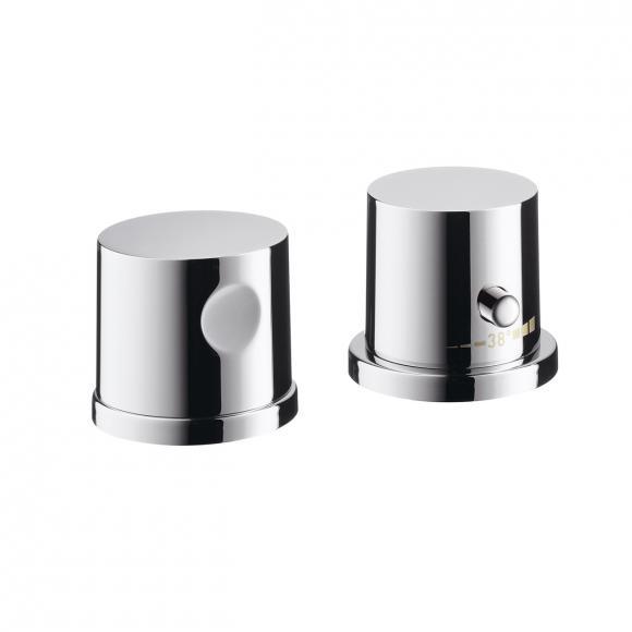 AXOR Uno 2-Loch Wannenrandarmatur mit Thermostat chrom 38480000