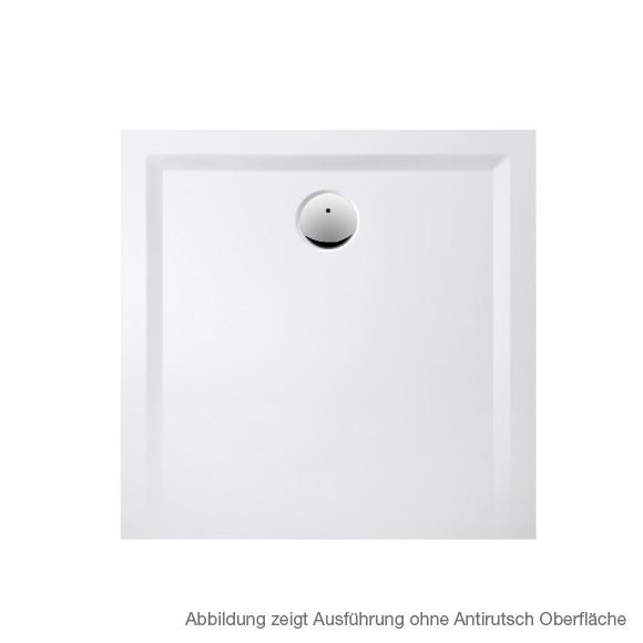 Hoesch MUNA S 4-Eck Duschwanne L: 80 B: 80 H: 3 cm weiß, mit SoliquePRO Rutschhemmung 4160.010