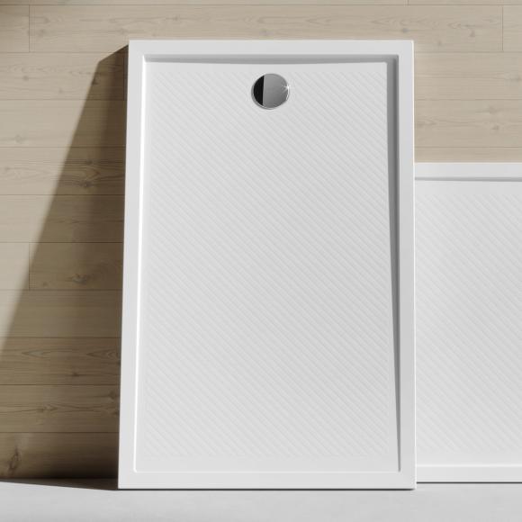 HÜPPE Purano Rechteck Duschwanne L: 70 B: 90 H: 4 cm weiß 202164055