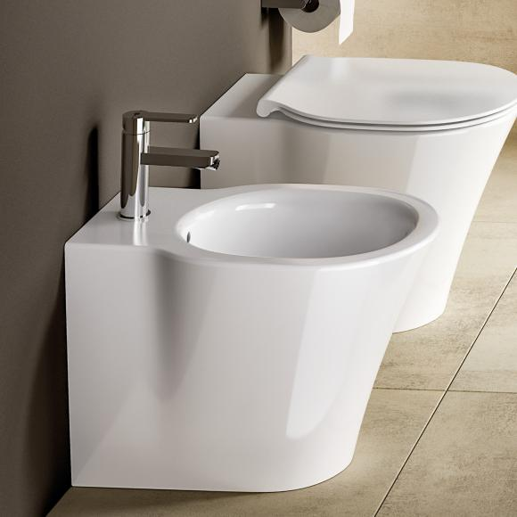 Ideal Standard Connect Air Stand-Bidet L: 55 B: 36 cm weiß, mit Ideal Plus E0180MA