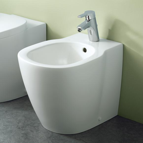 Ideal Standard Connect Stand-Bidet L: 54,5 B: 36 H: 40 cm weiß, mit Ideal Plus E7125MA