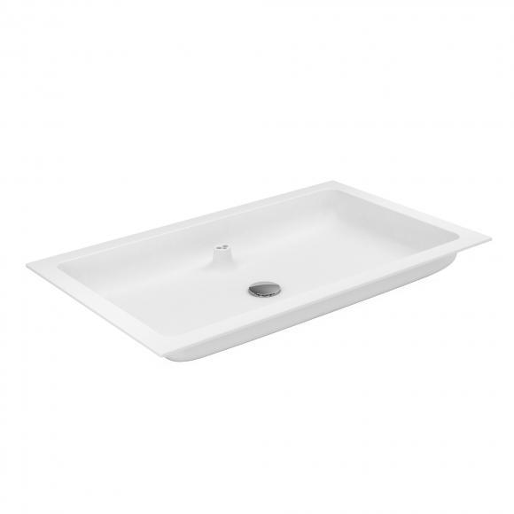 Keuco X-Line Varicor-Waschtisch B: 80,5 T: 49,3 cm 33160708001
