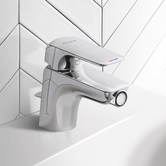 Kludi AMEO Bidet-Einhandmischer mit Ablaufgarnitur 412160575