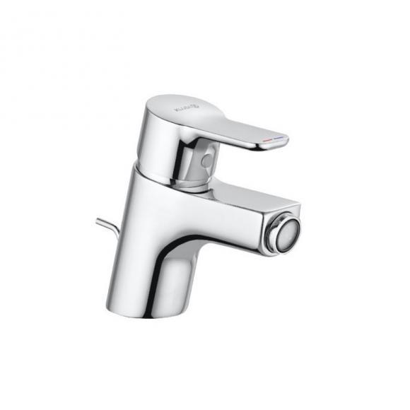 Kludi PURE&EASY Bidet-Einhandmischer mit Ablaufgarnitur chrom 375330565