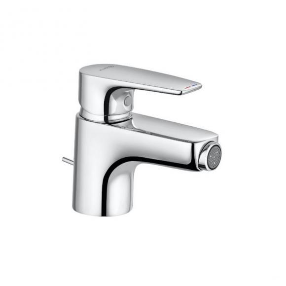 Kludi PURE&SOLID Bidet-Einhandmischer mit Ablaufgarnitur 342160575