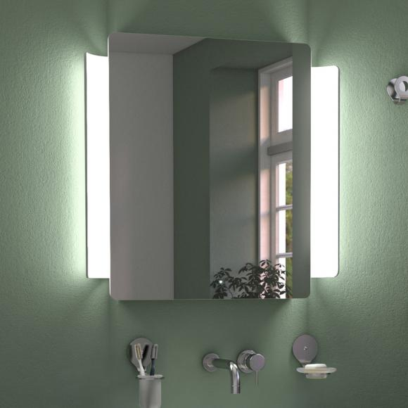 KOH-I-NOOR ABBRACCIO Spiegel mit LED-Beleuchtung B: 74,4 H: 72 T: 7 cm L46031, EEK: A+