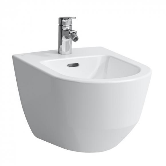 Laufen Pro Wand-Bidet L: 53 B: 36 cm, für außenliegende Eckventile weiß, mit Clean Coat H8309524003041