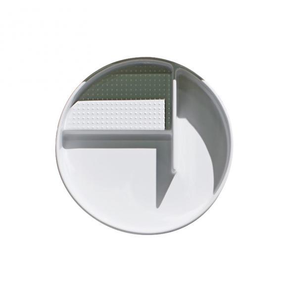 Laufen VAL Aufbewahrungsschale rund Ø 325 mm weiß matt H8702817570001