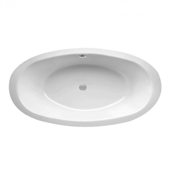 Mauersberger fusaca Oval Badewanne L: 190 B: 100 H: 47 cm weiß 1319000101