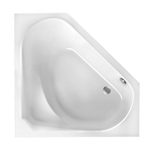 Mauersberger sedum Eck-Badewanne L: 133 B: 133 H: 48,5 cm weiß 1213300101