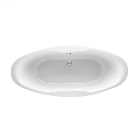 Mauersberger ubesa Oval Badewanne L: 180 B: 80 H: 44 cm weiß 1318000101