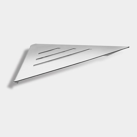 Pomd'or Kubic Eckablage für Dusche B: 230 H: 30 T: 230 mm 366032002