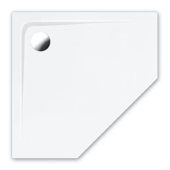 Repabad Arco Fünfeck-Duschwanne B: 100/100 H: 2,5 cm weiß 0020082-0001