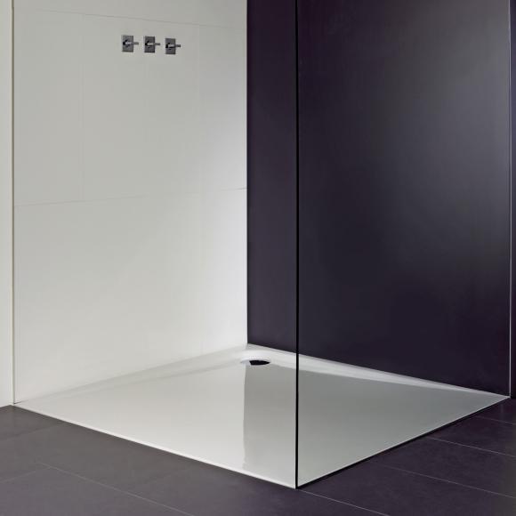 Repabad Como Rechteck-Duschwanne L: 120 B: 120 H: 2,5 cm weiß 0020073-0001