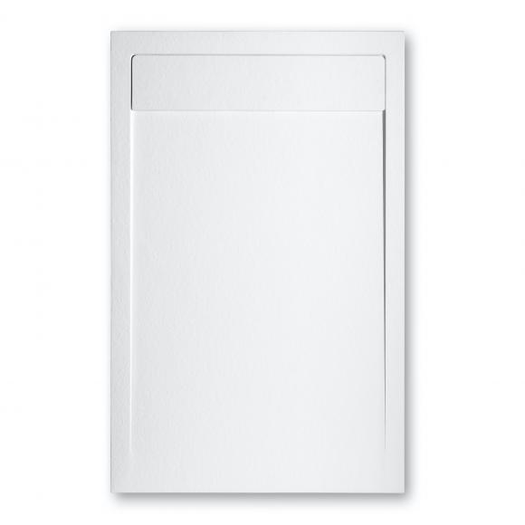 Repabad Granit Rechteck-Duschwanne L: 160 B: 80 H: 1,5 cm weiß 0035121-0001