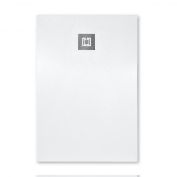 Repabad Jura Rechteck-Duschwanne L: 140 B: 90 H: 1,5 cm weiß 0034628-0001