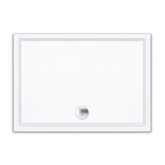 Repabad Wien Rechteck Duschwanne L: 140 B: 100 H: 4 cm weiß 0028129-0001