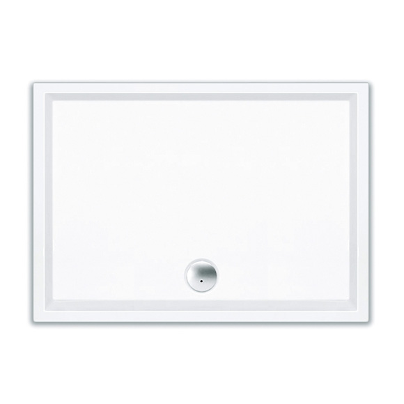 Repabad Wien Rechteck Duschwanne L: 150 B: 90 H: 4 cm weiß 0025118-0001