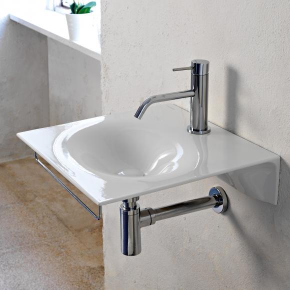 Scarabeo Veil Handwaschbecken B: 46 T: 46 cm weiß, ohne Handtuchhalter 6101